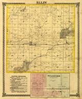 Allin Township, Stanford, Sugar Creek, McLean County 1874