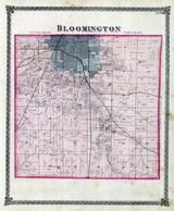 Blooington Township, Kickapoo Creek, McLean County 1874