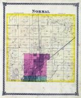 Normal Township, Bloomington, Six Mile Creek, McLean County 1874