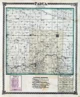 Padua Township, Stumptown, Ellsworth, Holder, McLean County 1874