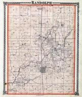 Randolph Township, Heyworth, Lyttlefield, Karr's Flag Station, McLean County 1874