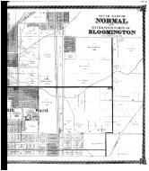 South Normal and Bloomington Fifth and Sixth Wards - Right,final, McLean County 1874 Microfilm
