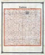 Yates Township, Weston, McLean County 1874
