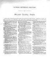 Patrons Reference Directory 01, McLean County 1914