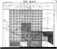 Le Roy, Lexington - Above, McLean County 1914