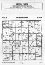 Allin T23N-R1W, McLean County 1990 Published by Farm and Home Publishers, LTD