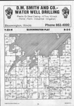 Bloomington T23N-R2E, McLean County 1990 Published by Farm and Home Publishers, LTD
