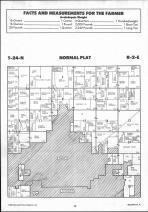 Normal T24N-R2E, McLean County 1990 Published by Farm and Home Publishers, LTD