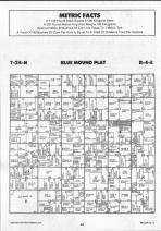 Blue Mound T24N-R4E, McLean County 1990 Published by Farm and Home Publishers, LTD