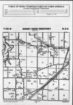 Money Creek T25N-R3E, McLean County 1990 Published by Farm and Home Publishers, LTD