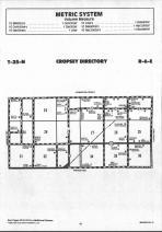 Cropsey T25N-R6E, McLean County 1990 Published by Farm and Home Publishers, LTD