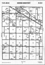 Map Image 055, McLean County 1990 Published by Farm and Home Publishers, LTD