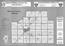 Index Map, McLean County 1993
