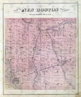 New Boston Township, Sturgeon Bay, Mississippi River, Edwards River, Mercer County 1874