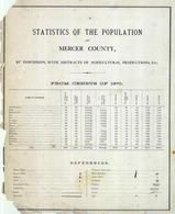 References, Mercer County 1874