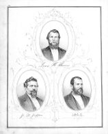 L.H. Thomas, J.W. Jefferis, E.W. Miller, Montgomery County 1874