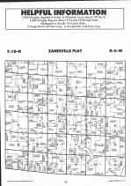Zanesville T10N-R5W, Montgomery County 1993 Published by Farm and Home Publishers, LTD