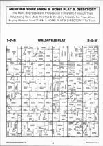 Walshville T7N-R5W, Montgomery County 1993 Published by Farm and Home Publishers, LTD