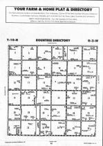 Rountree T10N-R3W, Montgomery County 1993 Published by Farm and Home Publishers, LTD