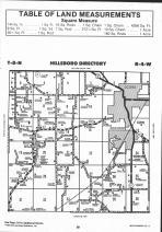 Hillsboro T8N-R4W, Montgomery County 1993 Published by Farm and Home Publishers, LTD