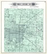 jacksonville atlas morgan county 1894 illinois historical map. Black Bedroom Furniture Sets. Home Design Ideas