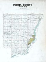 County Map, Peoria - Averyville - Bartonville - Richwoods 1920