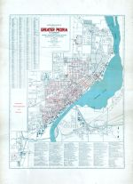 Greater Peoria - Index Map 3 Sewage Systems and Districts, Peoria - Averyville - Bartonville - Richwoods 1920