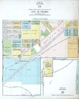 Peoria City - Section 19 and 20, Peoria - Averyville - Bartonville - Richwoods 1920