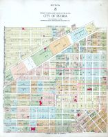 Peoria City - Section 8, Peoria - Averyville - Bartonville - Richwoods 1920