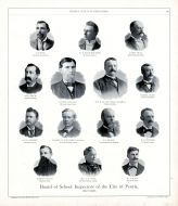 Board of School Inspectors of the City of Peoria, Peoria City and County 1896