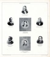 Thomas I. Ballentine, Henry P. Day, nathan R. Jerald, Charles T. Lambert, Robert M. Hanna, Jacob B. Barnes, Henry M. Pindell, Peoria City and County 1896