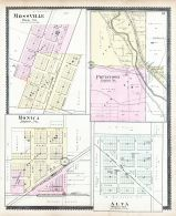 Mossville, Pottstown, Monica, Alta, Peoria City and County 1896