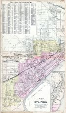 Peoria City, Peoria City and County 1896