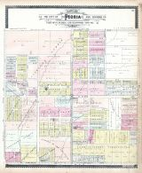 Peoria Sections 33, Peoria City and County 1896