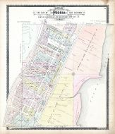 Peoria Sections 35, Peoria City and County 1896