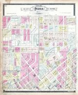 Peoria Sections 4, Peoria City and County 1896