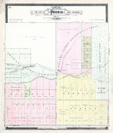 Peoria Sections 6, Peoria City and County 1896