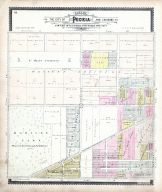 Peoria Sections 7, Peoria City and County 1896