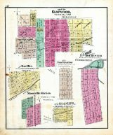 Elmwood, Oak Hill, Mossville Station, Glassford, North Hamton, Elmore, Peoria County 1873