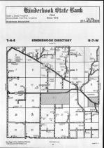 Kinderhook T4S-R7W, Pike County 1990 Published by Farm and Home Publishers, LTD