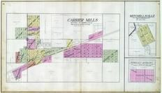 Carrier Mills, Mitchellsville, Ingram's Outlots, Saline County 1908