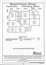 Mendard County Table of Contents, Sangamon and Menard Counties 1993