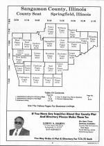 Sangamon County Table of Contents, Sangamon and Menard Counties 1993