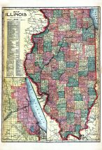 State Map, Schuyler County 1913