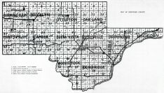 County Map, Schuyler County 1940
