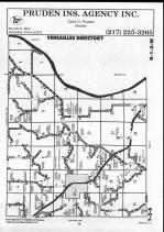 Brown County Map 001, Schuyler and Brown Counties 1990