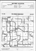 Brown County Map 005, Schuyler and Brown Counties 1990