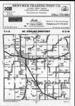 Brown County Map 007, Schuyler and Brown Counties 1990