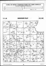 Brown County Map 010, Schuyler and Brown Counties 1990