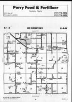 Brown County Map 011, Schuyler and Brown Counties 1990
